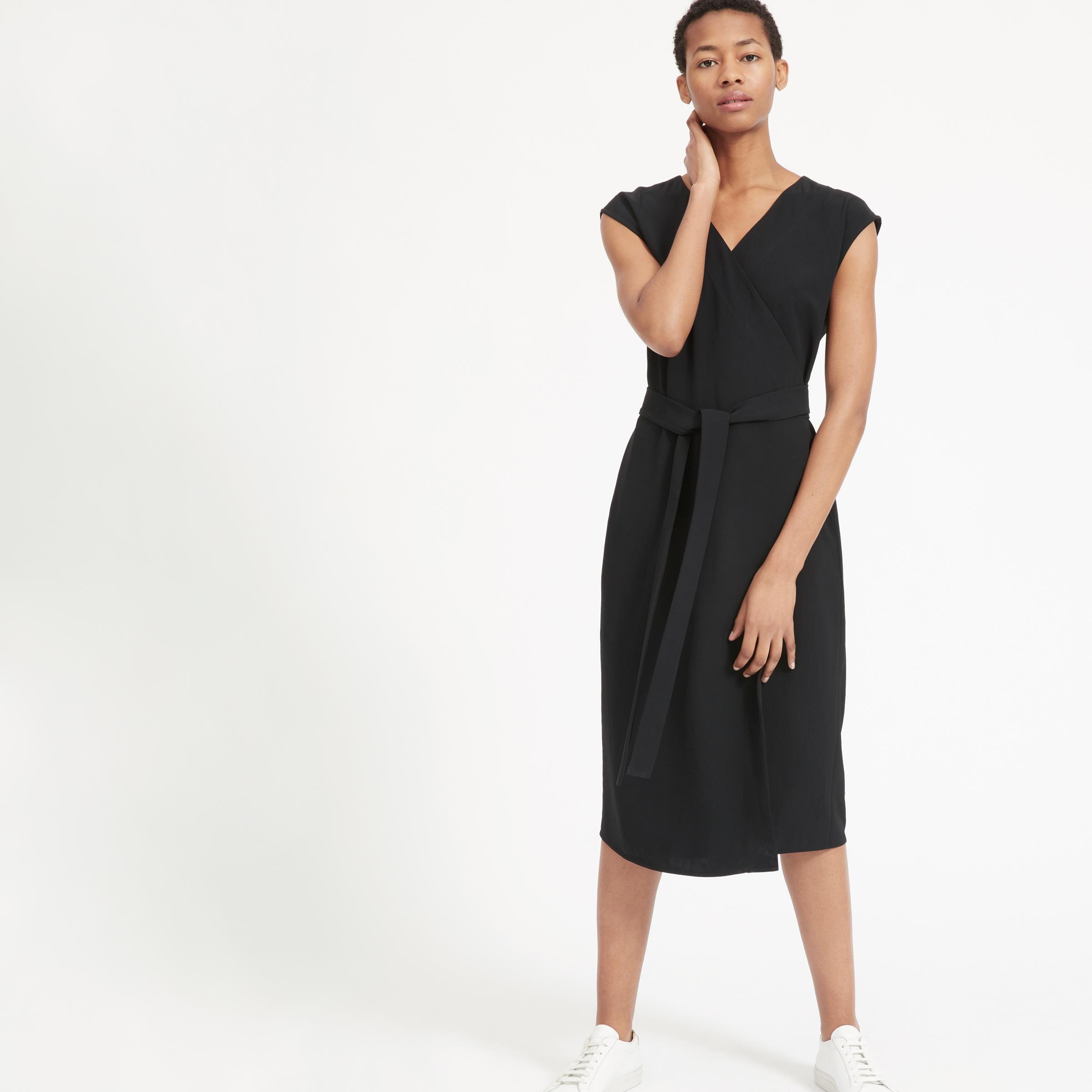 a2c99b85fc2 Women s Japanese GoWeave Short-Sleeve Wrap Dress