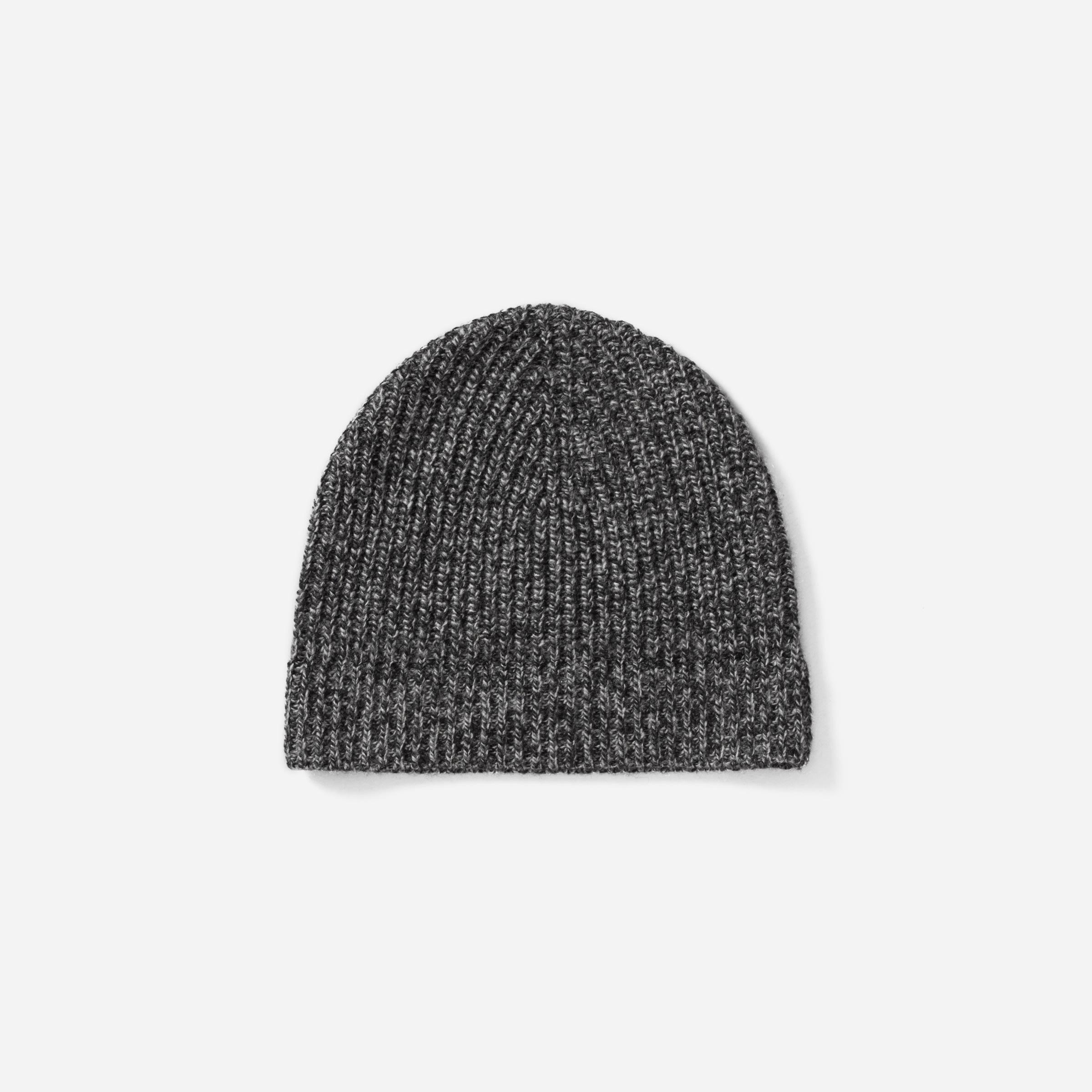 542044104cc0a The Wool-Cashmere Rib Beanie —  25