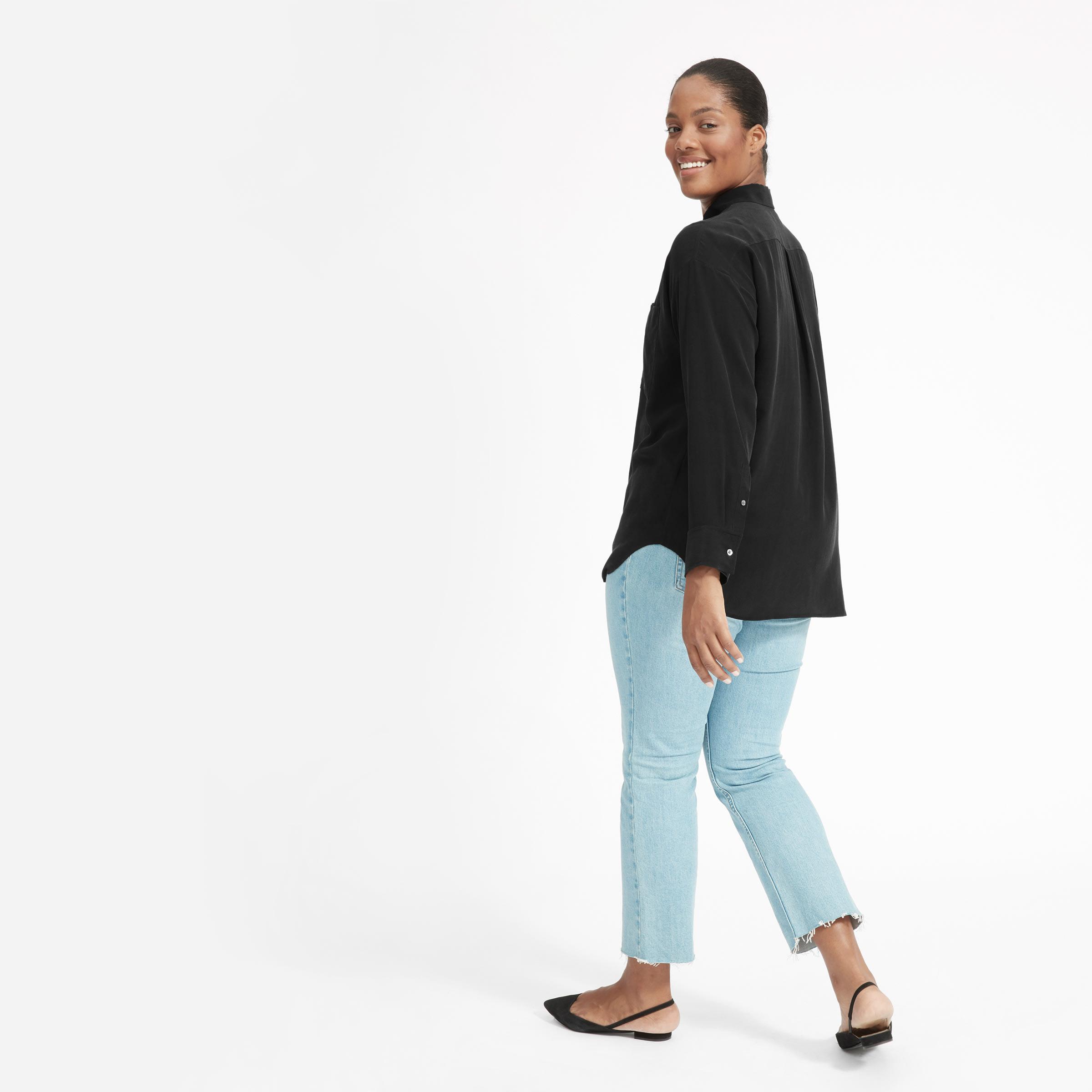 aab6a171aebe Women's Clean Silk Oversized Shirt | Everlane