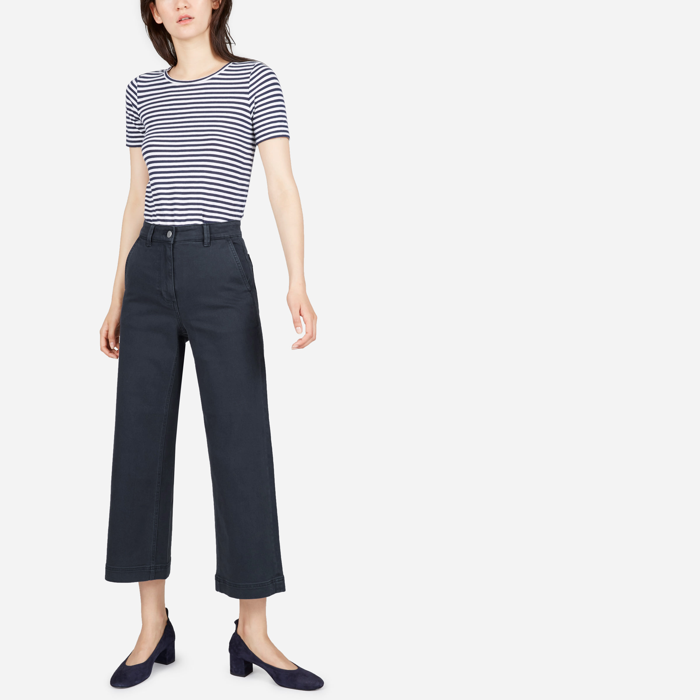 99f8d4dc939f Women's Wide Leg Crop Pant | Everlane