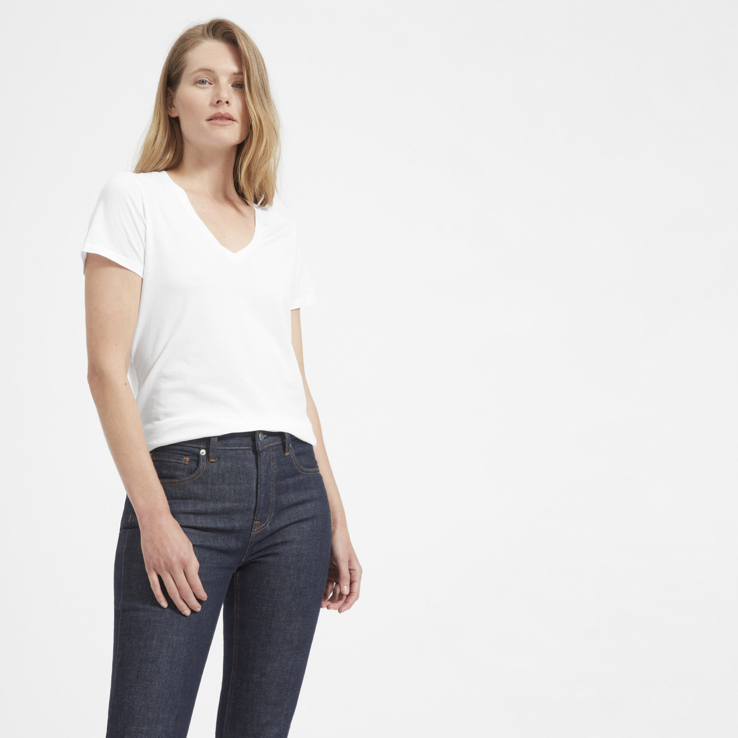 d22e1c11 Women's Cotton V-Neck | Everlane