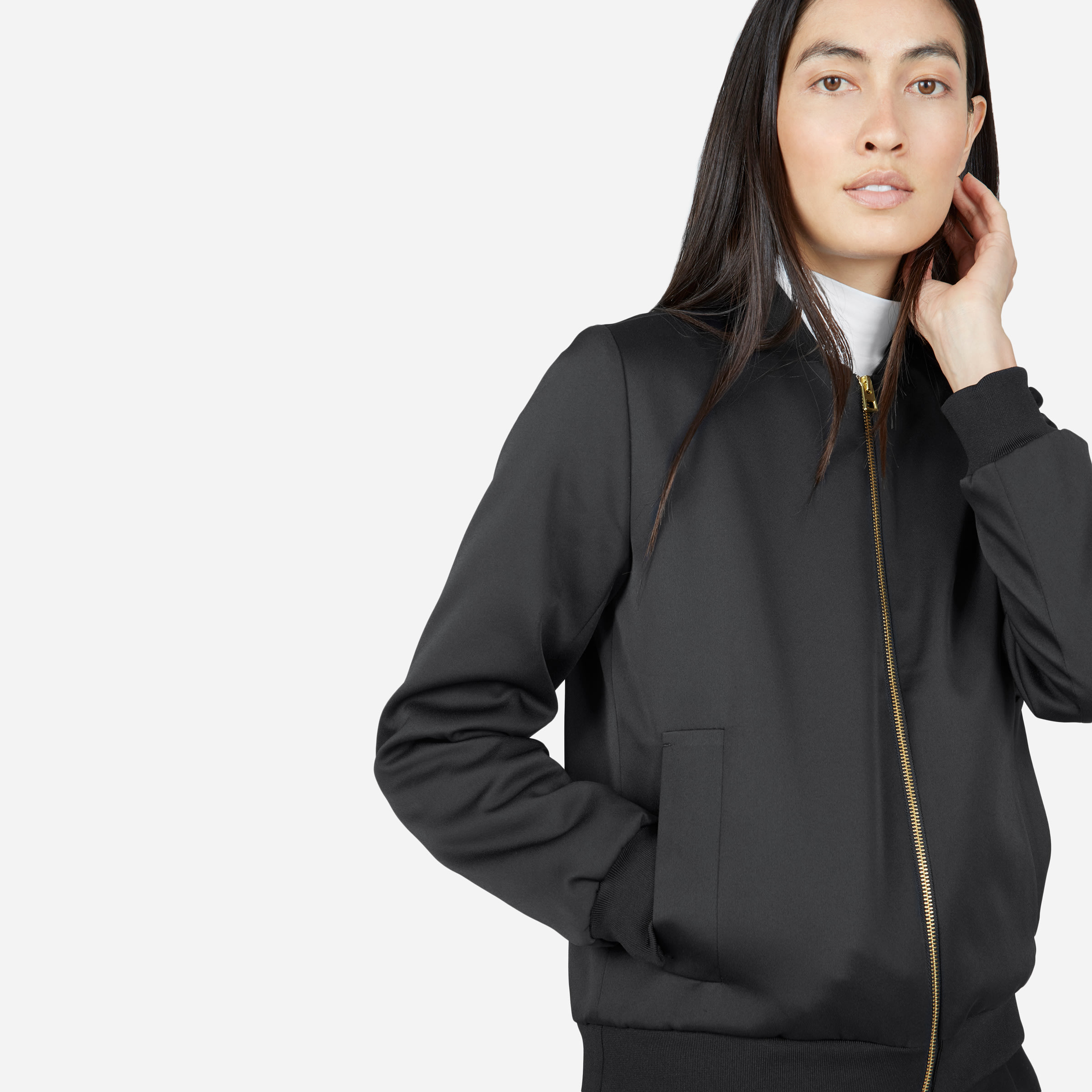 women s e2 bomber jacket everlane