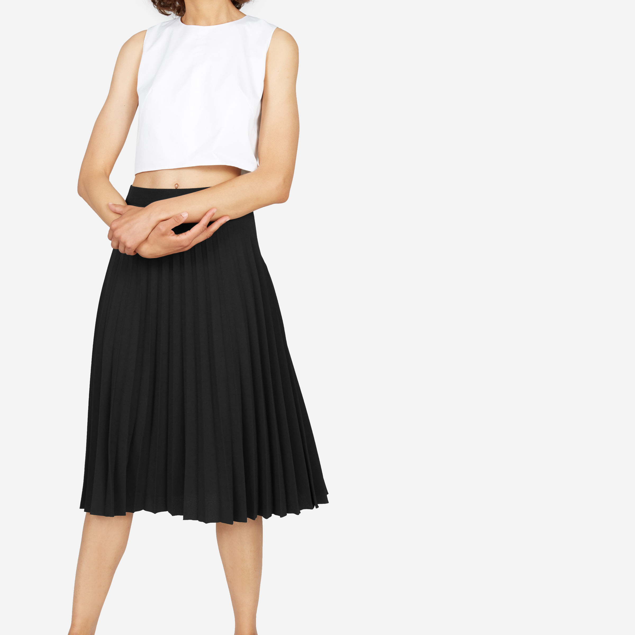 1ecb3de22295 Women's Pleated Midi Skirt | Everlane