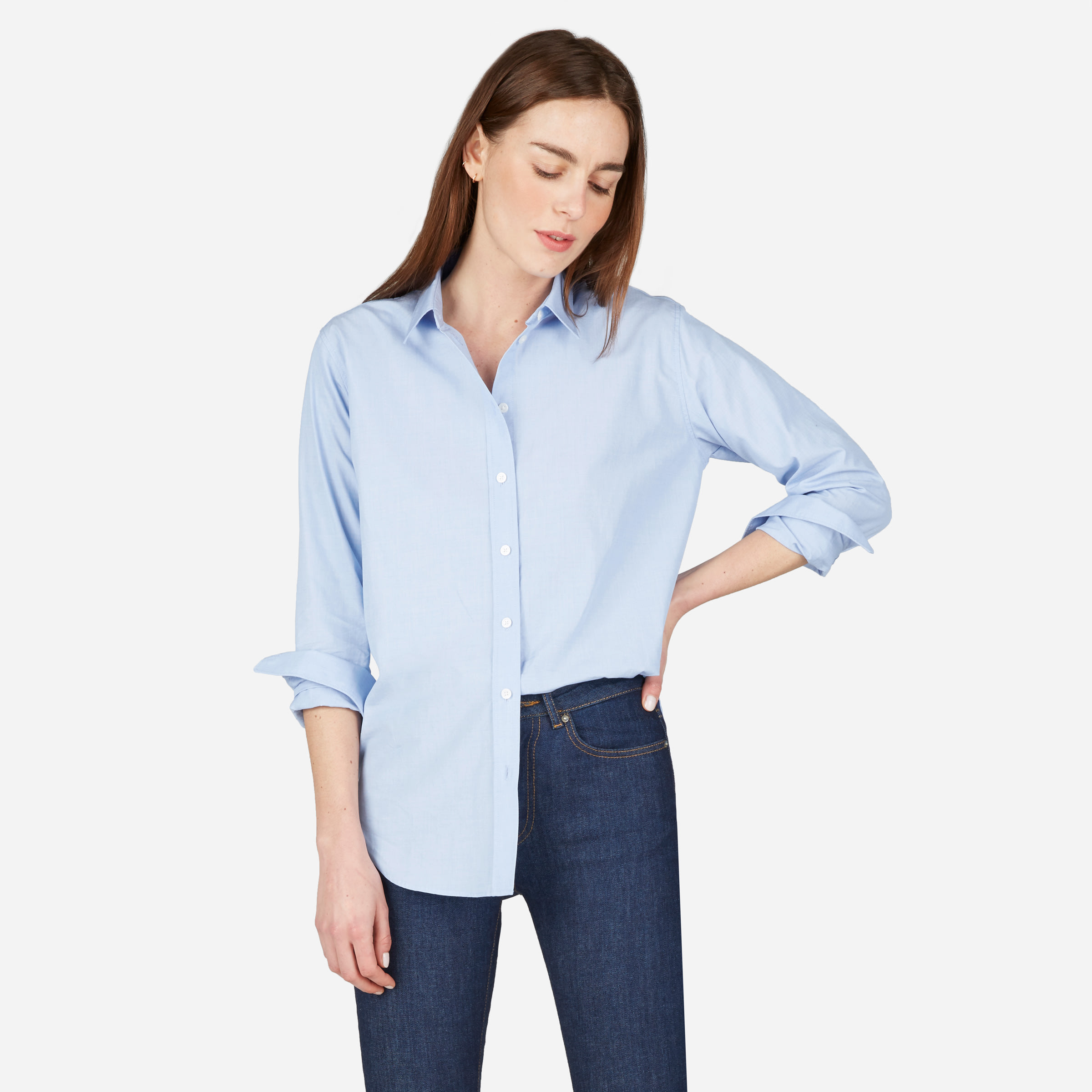 0cab33eabd3 Women s Relaxed Poplin Shirt