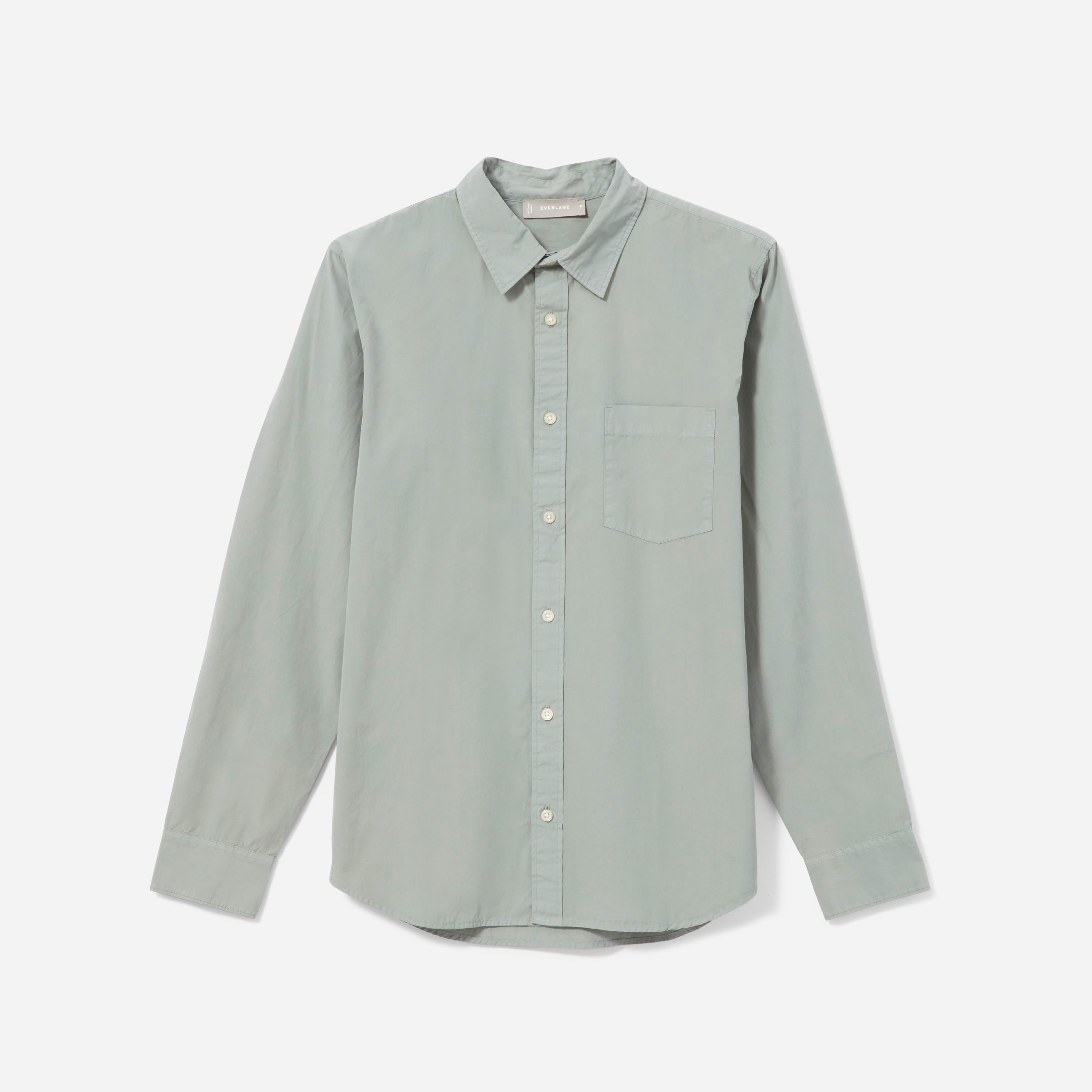 The Garment Dyed Cotton Shirt by Everlane