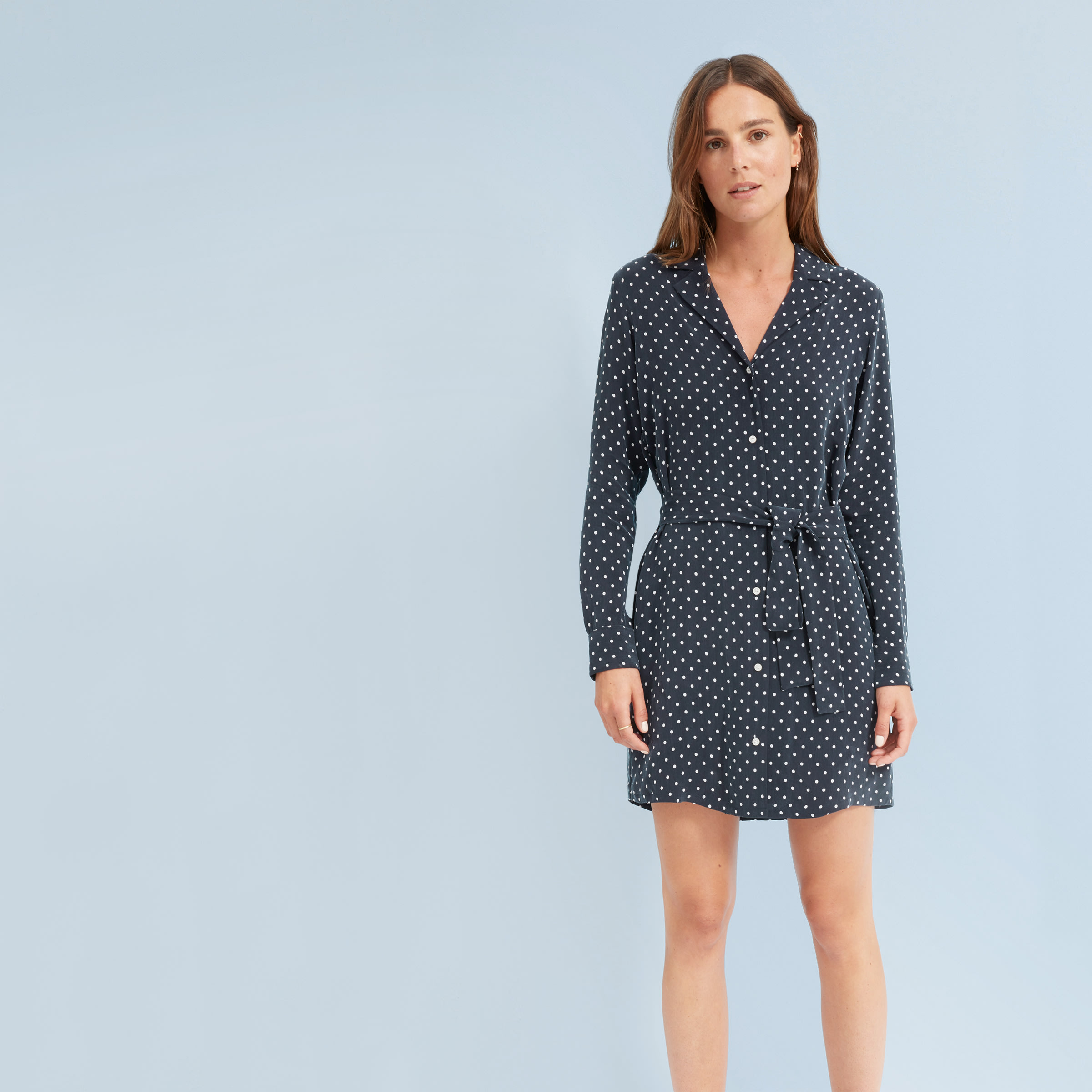 f8288772c958f The Polka Dot Shirt Dress –  110