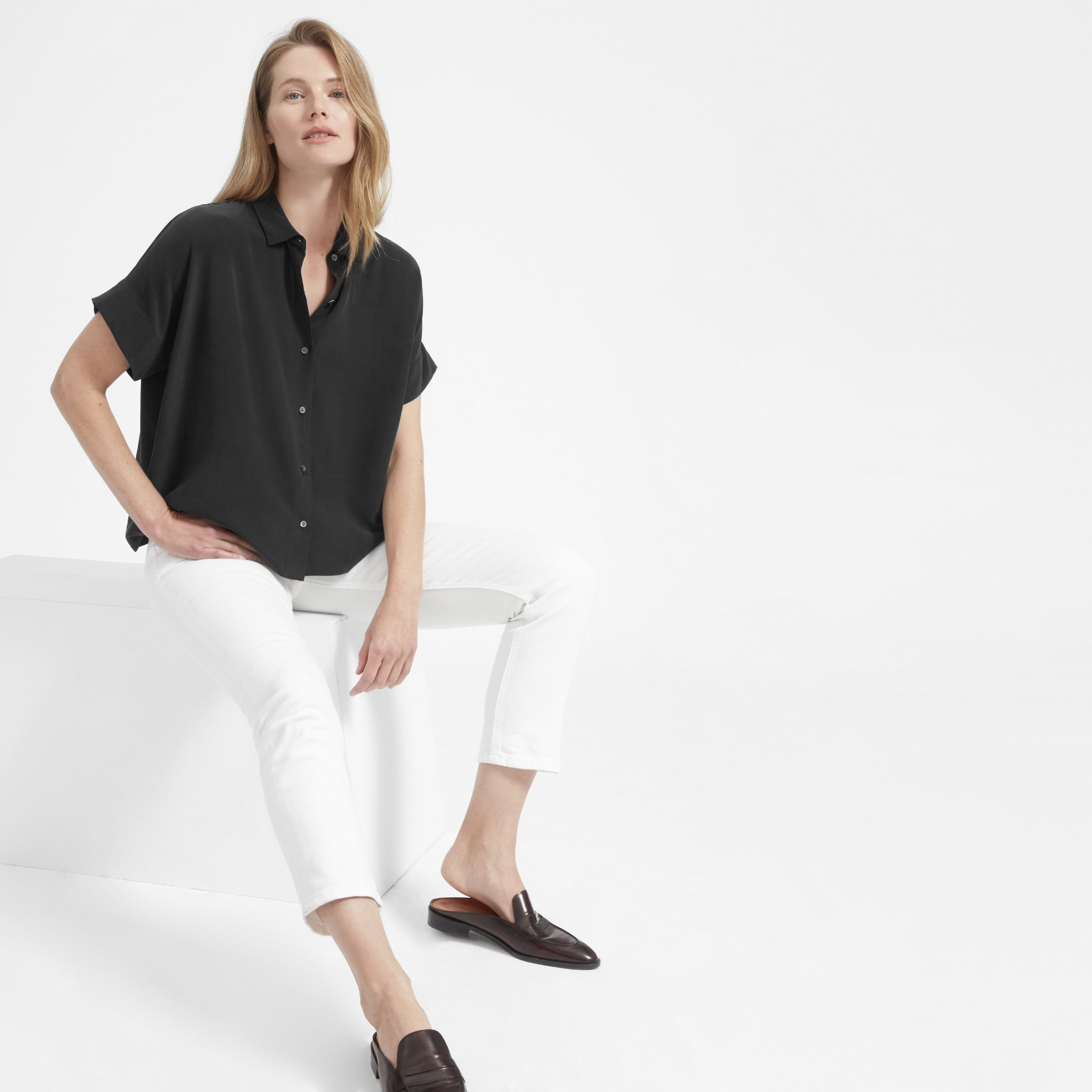 Everlane Is Launching Sustainable Clean Silk photo