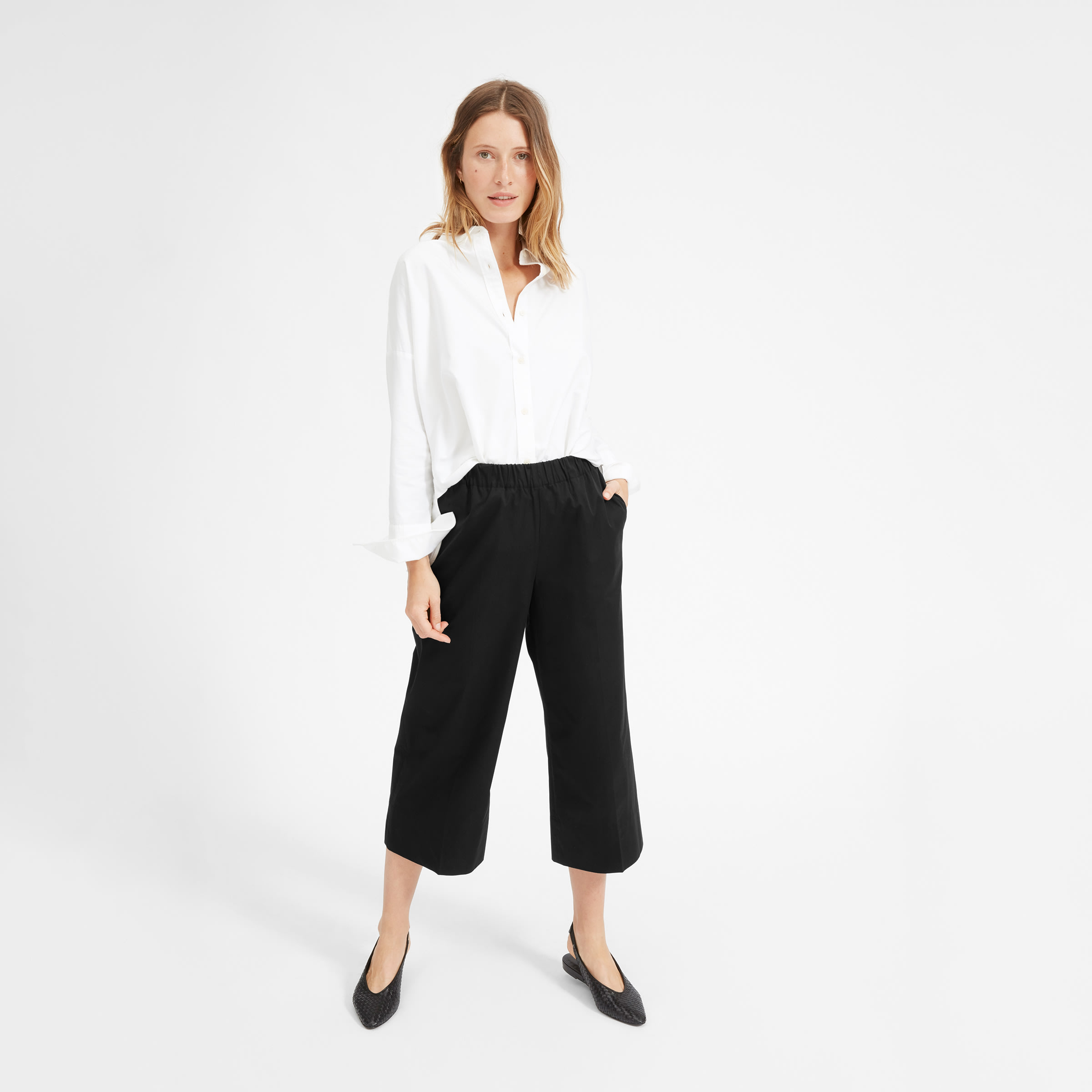 The Clean Cotton Culotte by Everlane