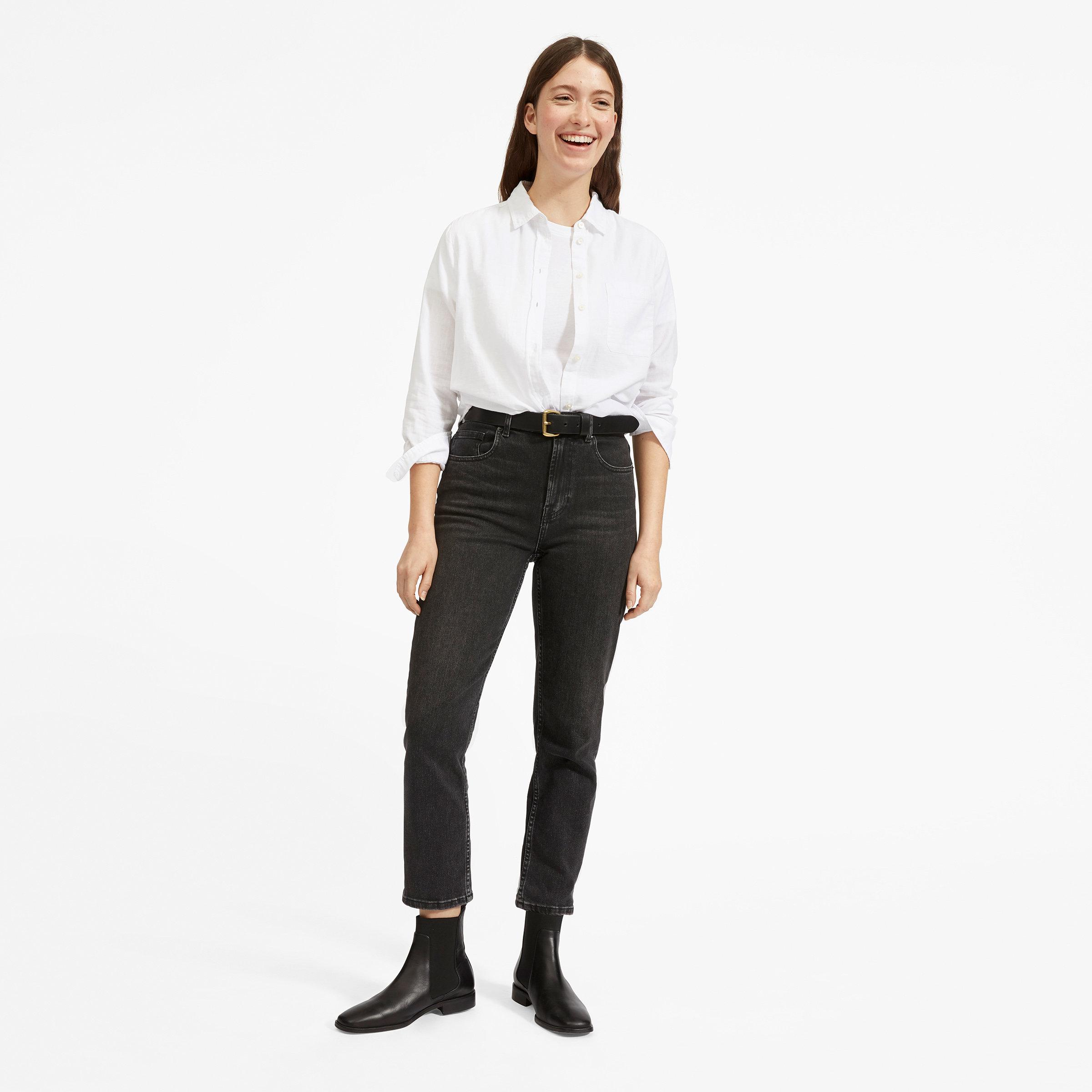 6c33cb0275cd3 Women s Shrunken Cotton Shirt