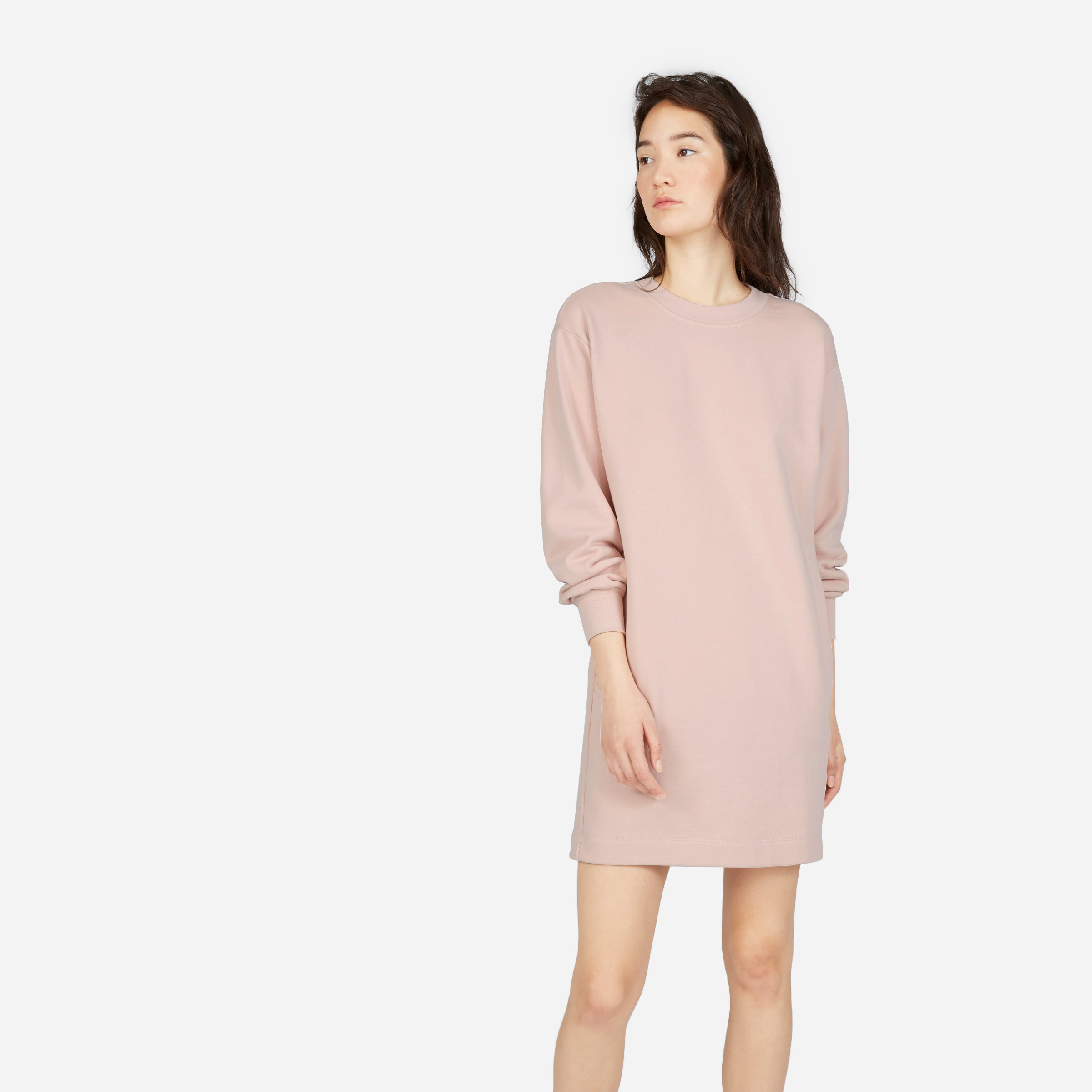 931f043416d The Classic French Terry Crew Neck Dress —  58