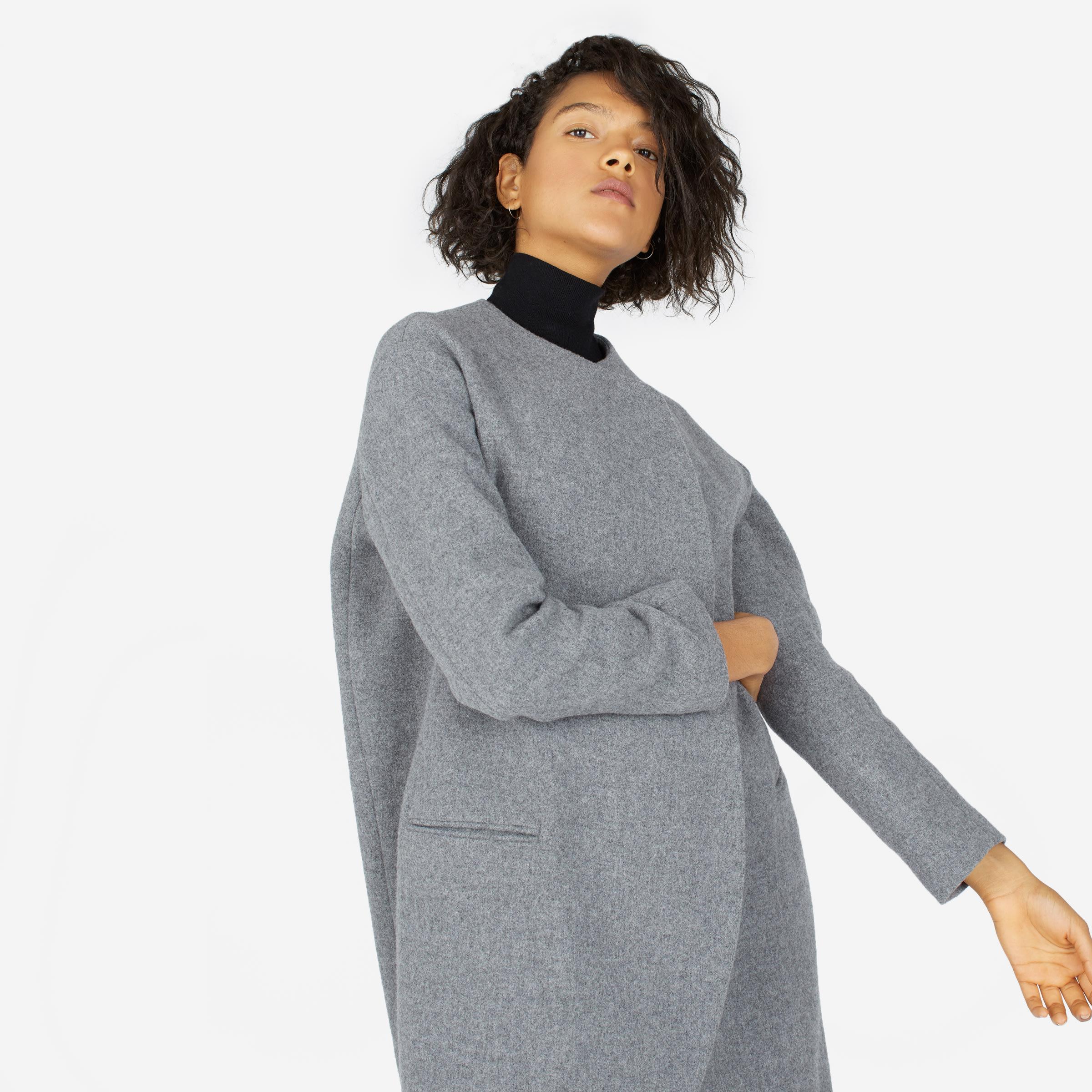 10794c75 Women's Premium Wool Oversized Unstructured Coat | Everlane