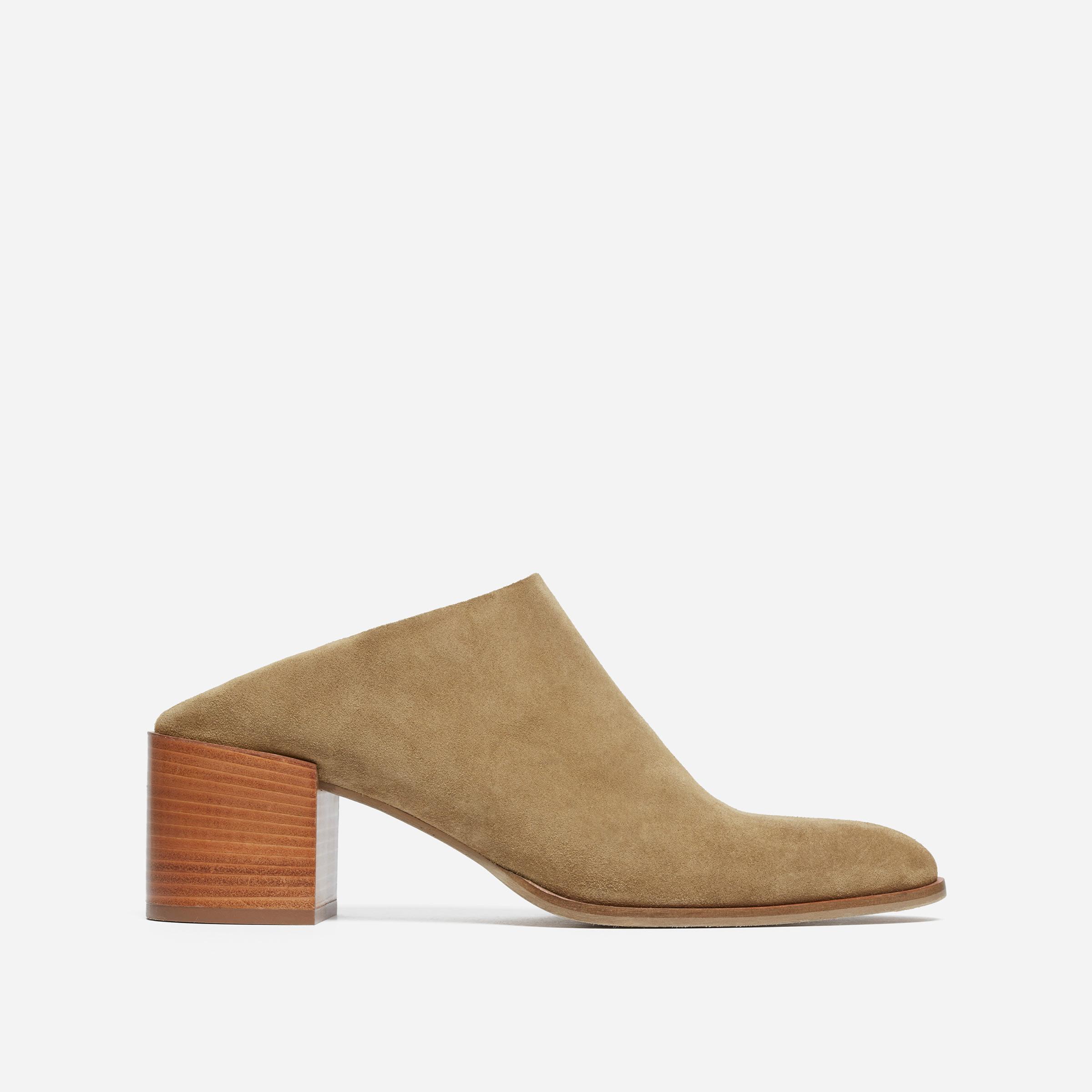 fcdc683198d0 The Suede Heel Mule —  198