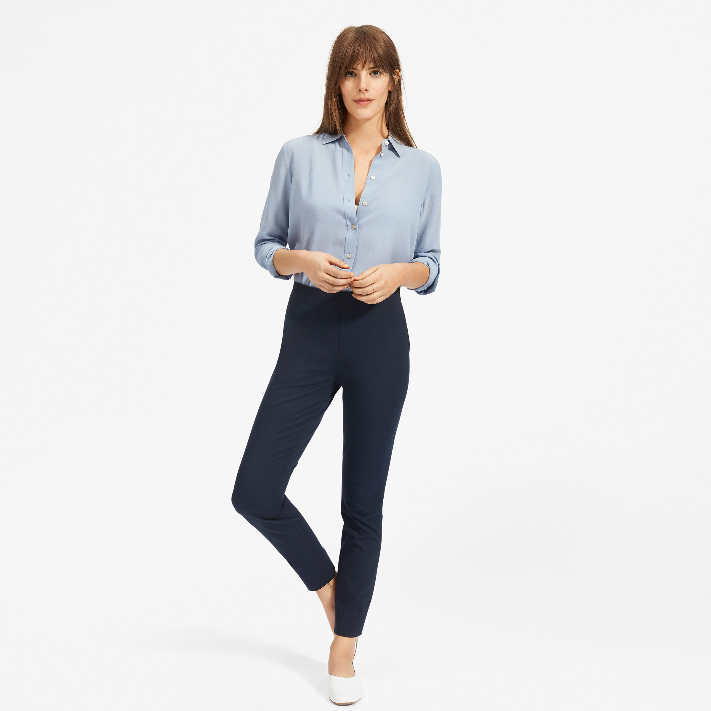d6cd6bb2 Women's Clean Silk Relaxed Shirt | Everlane