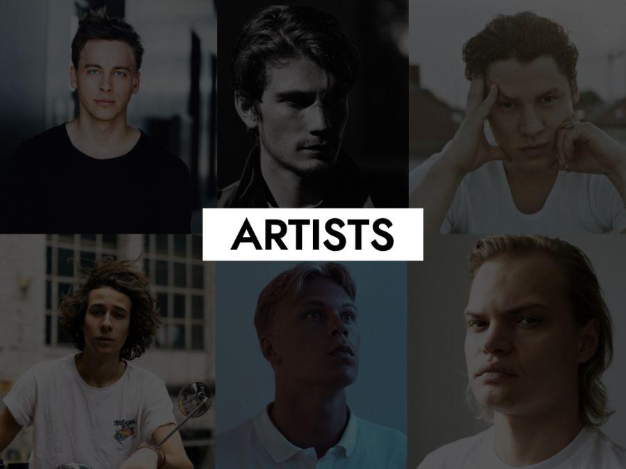 Kategoriebild des Servicebereichs Artists