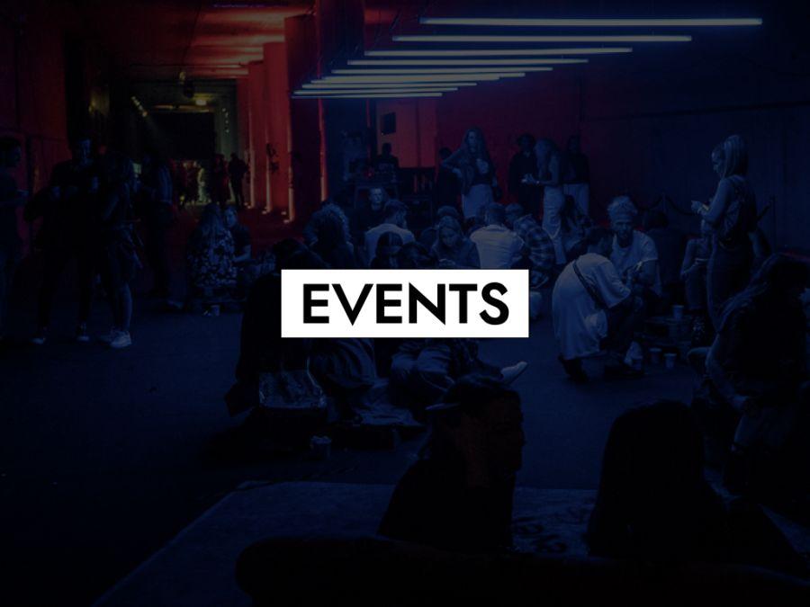 Kategoriebild des Servicebereichs Events