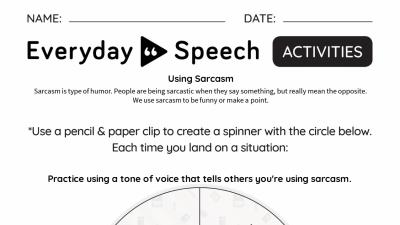 Interactive: Using Sarcasm