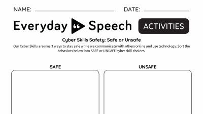 Interactive: Cyber Skills Safety - Safe or Unsafe