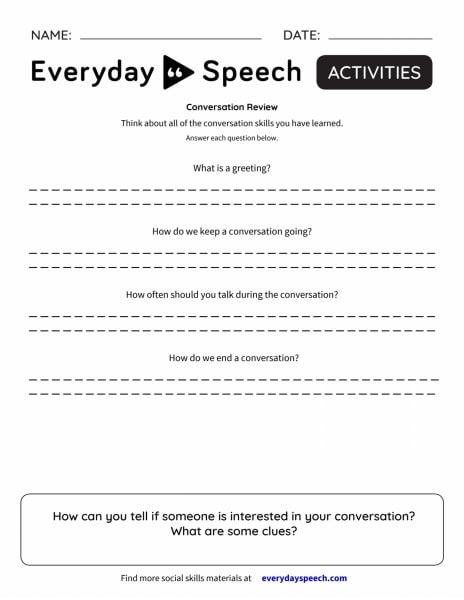 Interactive: Conversation Review