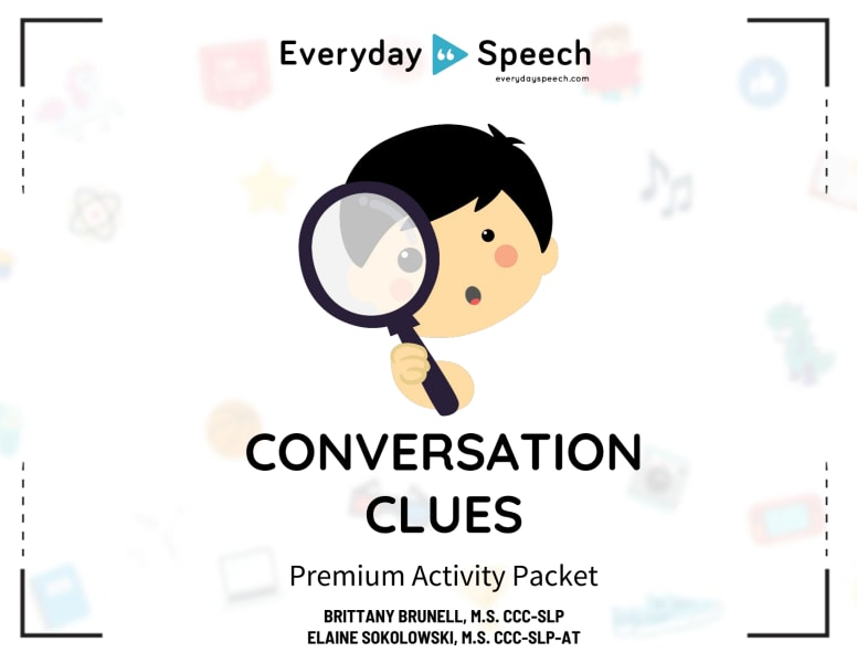 Conversation Clues Packet