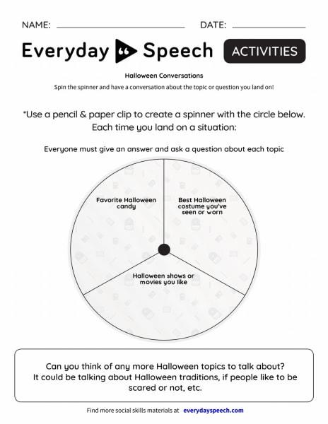 Interactive: Halloween Conversations