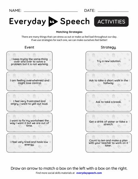 Matching Strategies