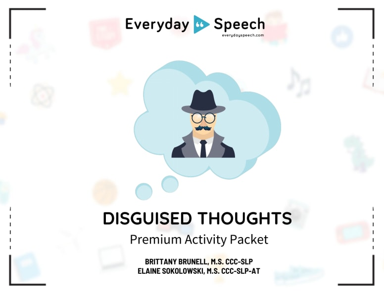 Disguised Thoughts Packet