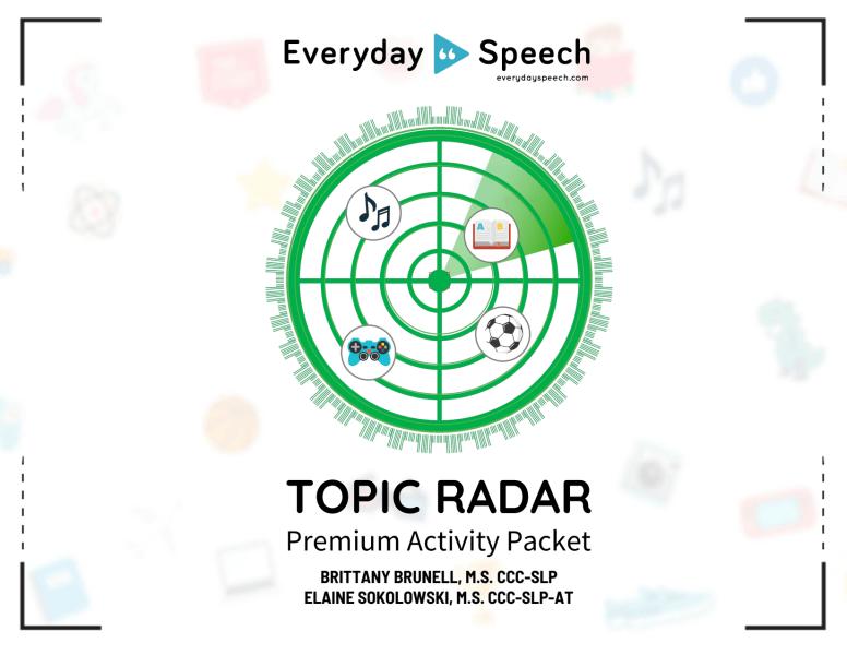 Topic Radar Packet