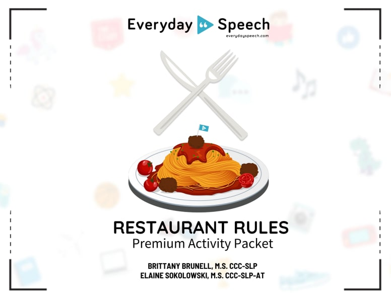 Restaurant Rules Packet