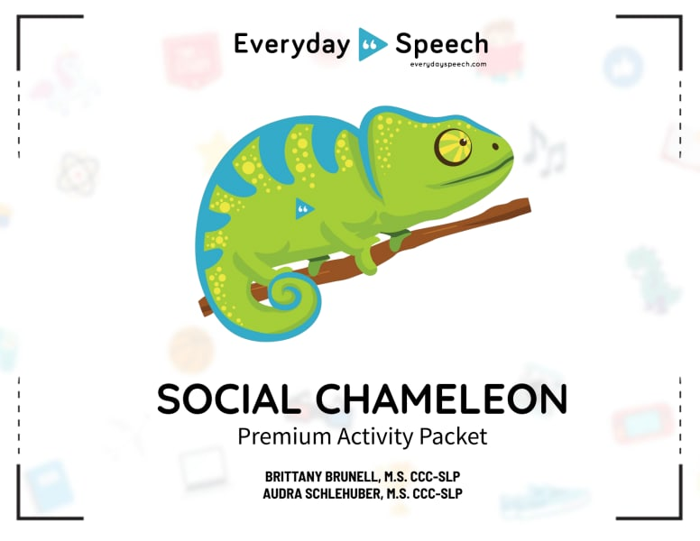 Social Chameleon Packet