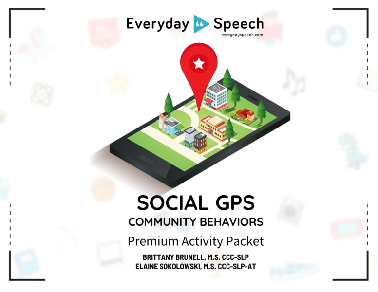 Social GPS - Community Behaviors Packet