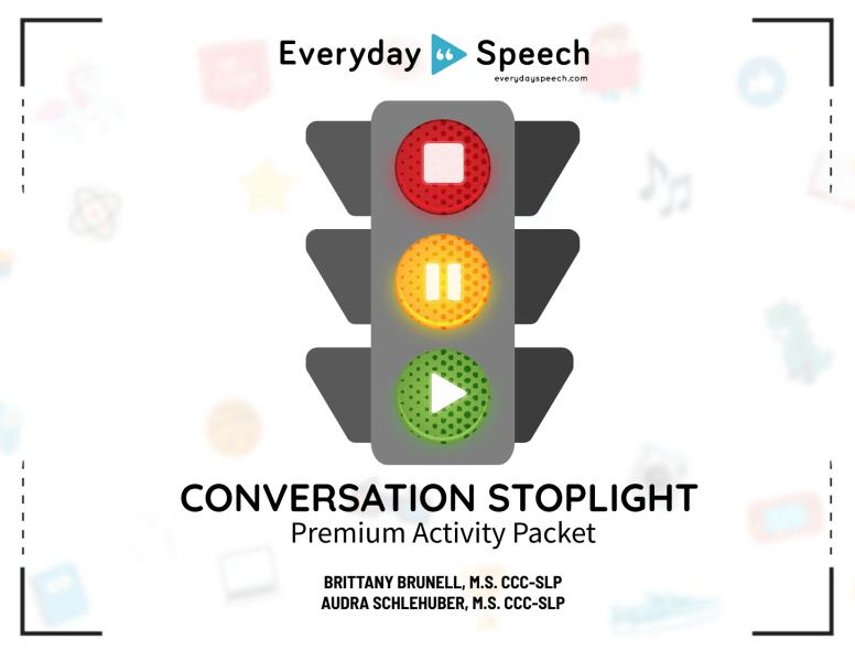 Conversation Stoplight Packet