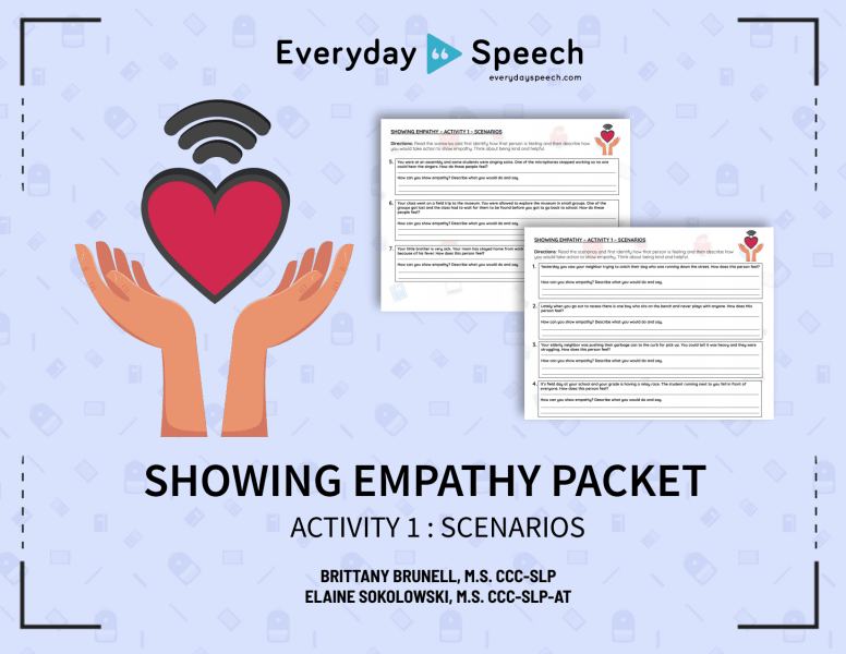 Showing Empathy Scenarios