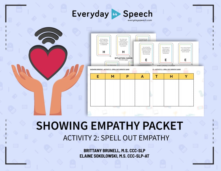 Spell Out Empathy Game