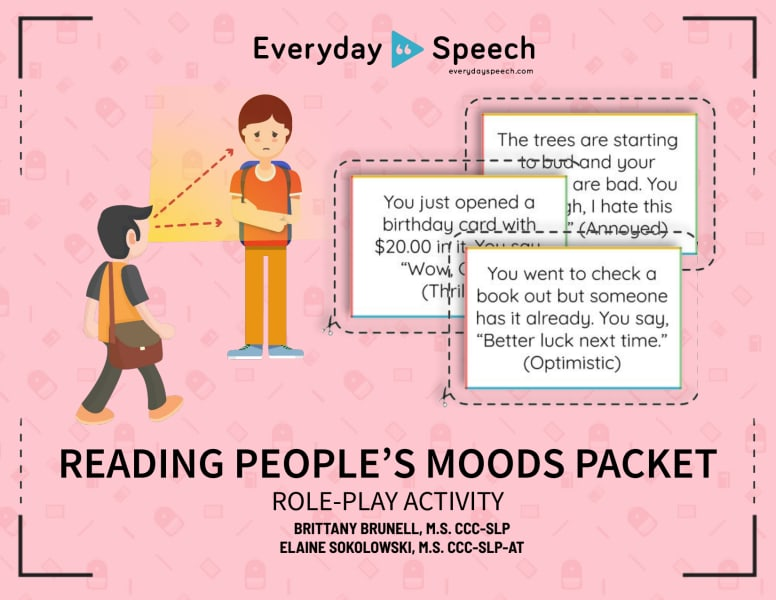 Reading People's Moods Role-Play Activity