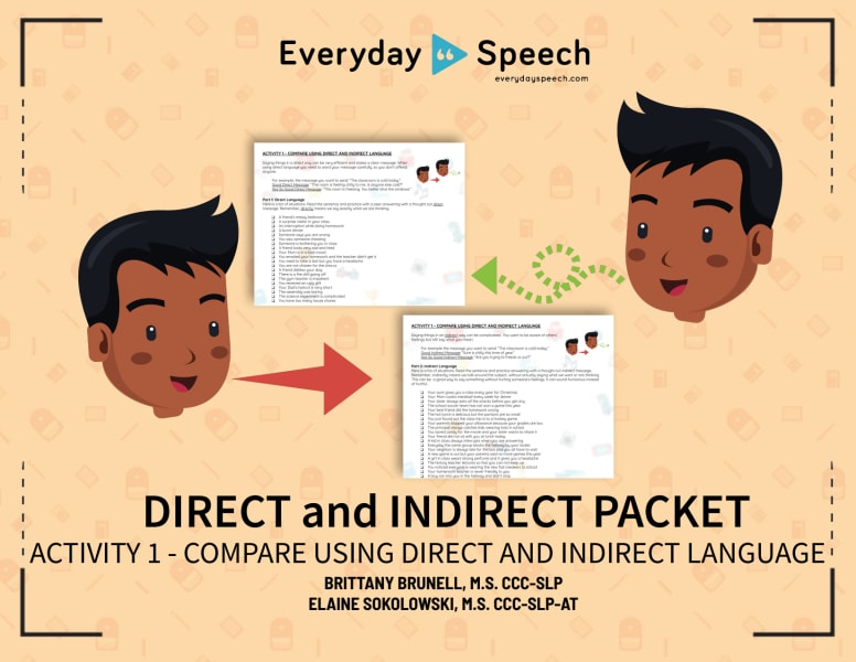 Compare Using Direct and Indirect Language