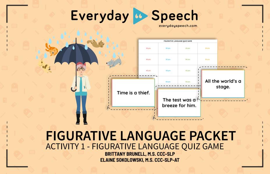 Figurative Language Quiz Game