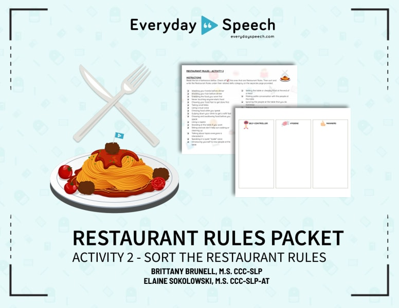 Sort the Restaurant Rules