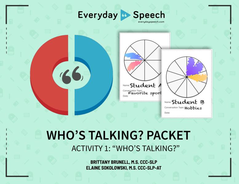 Who's Talking Activity