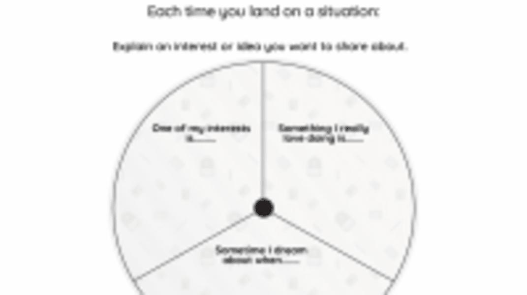 Interactive: Explain Your Own Ideas
