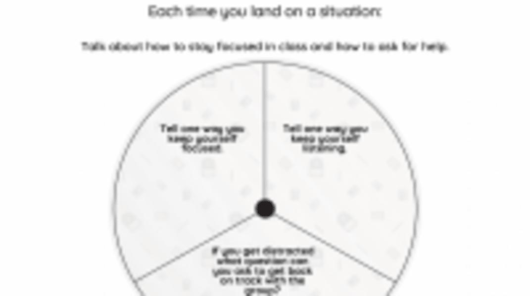 Interactive: Focusing in School