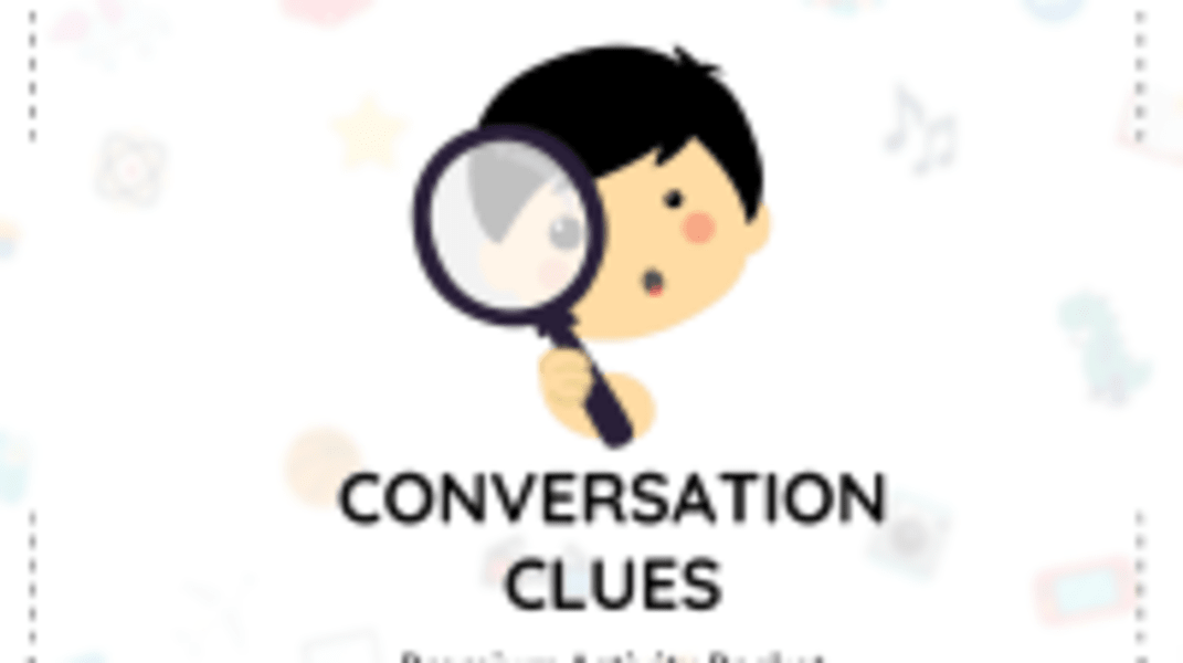 Conversation Clues Packet