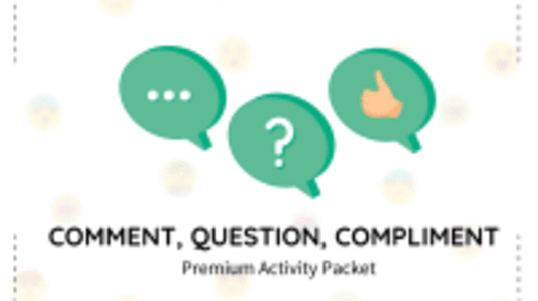 Comment, Question, Compliment Packet