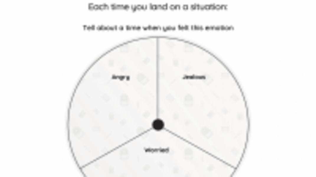 Interactive: Tell About Your Feelings