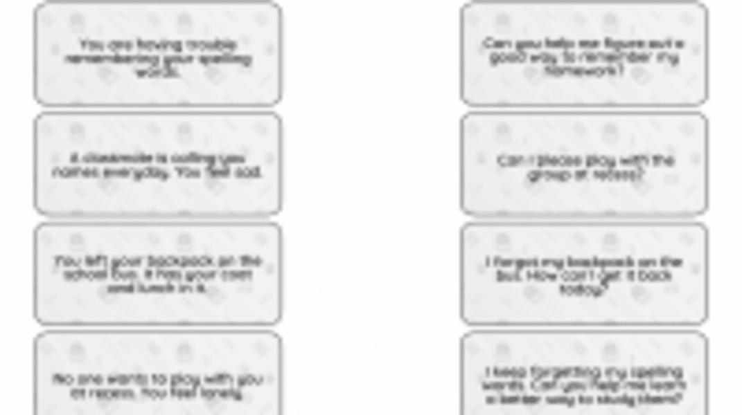 Interactive: Asking for Help in School