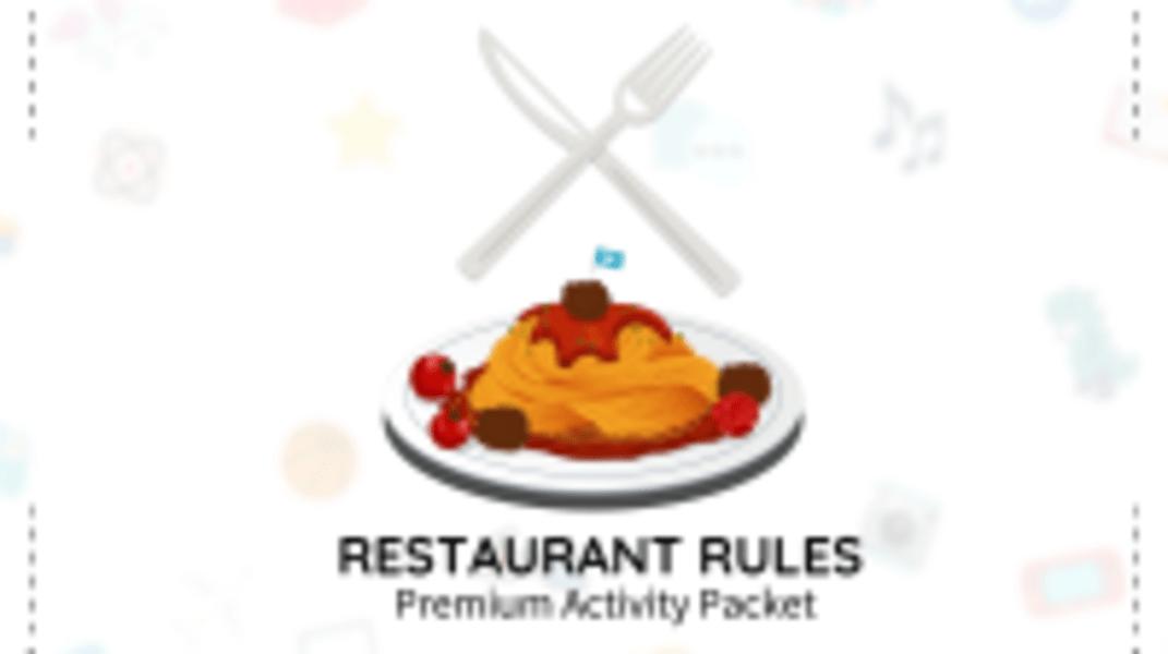 Restaurant Rules Packet