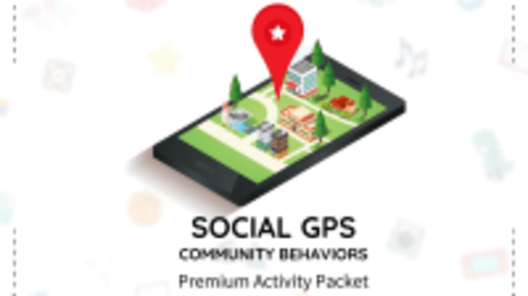 Social GPS - Community Behaviors Packet