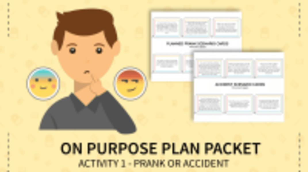 Prank or Accident Scenario Cards