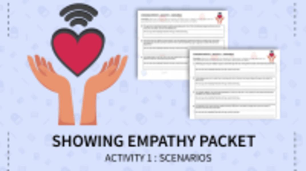Showing Empathy Scenarios
