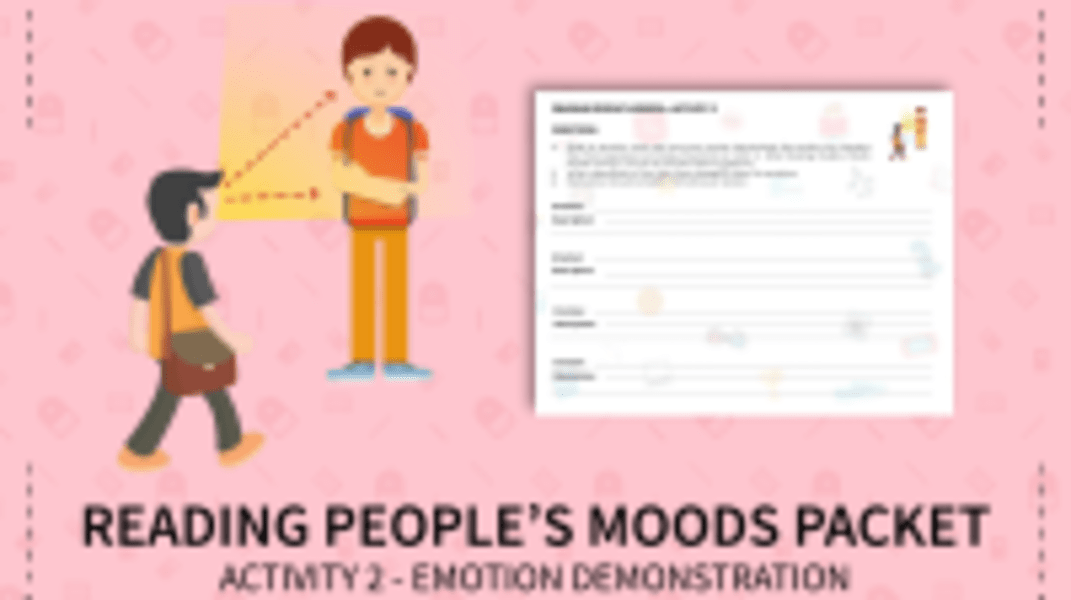 Reading People's Moods - Emotion Demonstration Activity