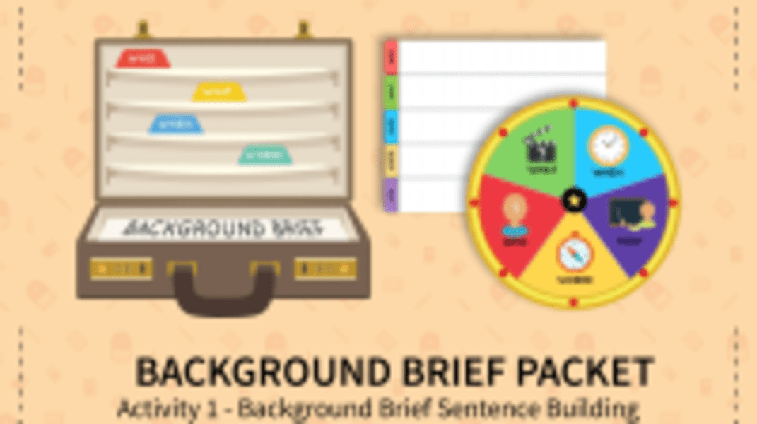 Background Brief Sentence Building